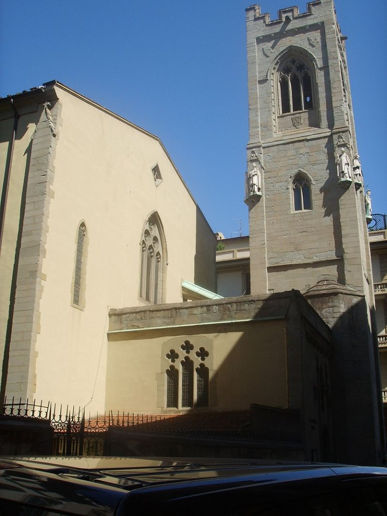 Waldensian Church in Florence, Italy