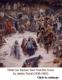 The View from the Cross by Tissot