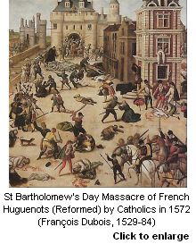 St Bartholomew's Day Massacre