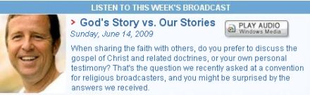 God's Story vs Our Stories by Michael Horton