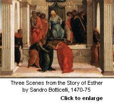 Esther by Botticelli