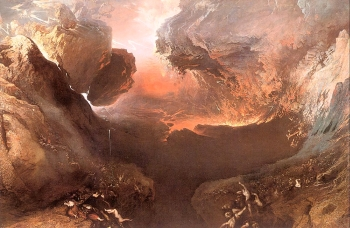 """The Great Day of His Wrath"" by John Martin (1851-53)"