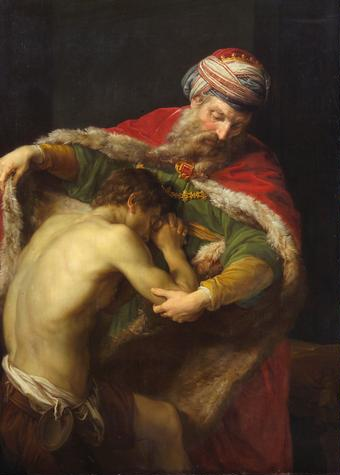 The Prodigal Son by Pompeo Batoni (1773)