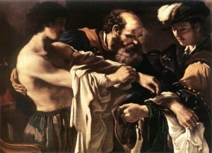 The Prodigal Son by Guercino (1619)