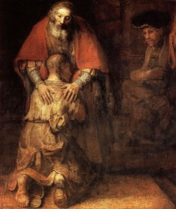 The Return of the Prodigal Son by Rembrandt (1636)