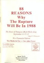 88 Reasons Why The Rapture Will Be in 1988
