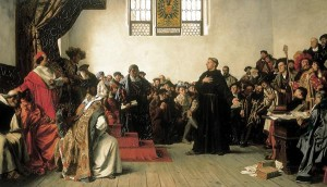 Martin Luther Before the Diet of Worms