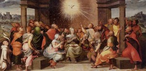 Descent of the Holy Spirit at Pentecost