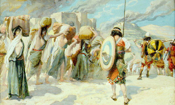 The Women of Midian Led Captive by the Hebrews