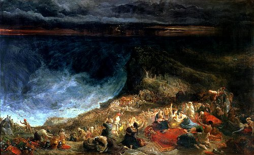 The Passage of the Red Sea by Francis Danby