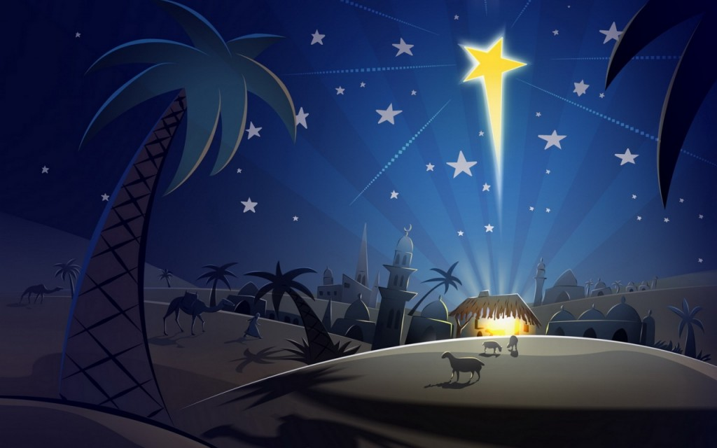 """Star of Bethlehem"" from miraclesofmind.org"