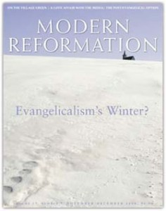 """To Be or Not to Be: The Uneasy Relationship between Reformed Christianity and American Evangelicalism"" by Michael Horton"