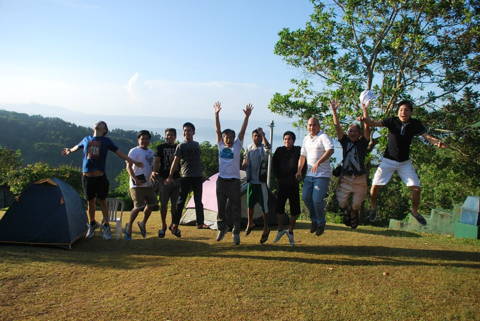 Church Members Practicing for the Secret Rapture in Tagaytay City